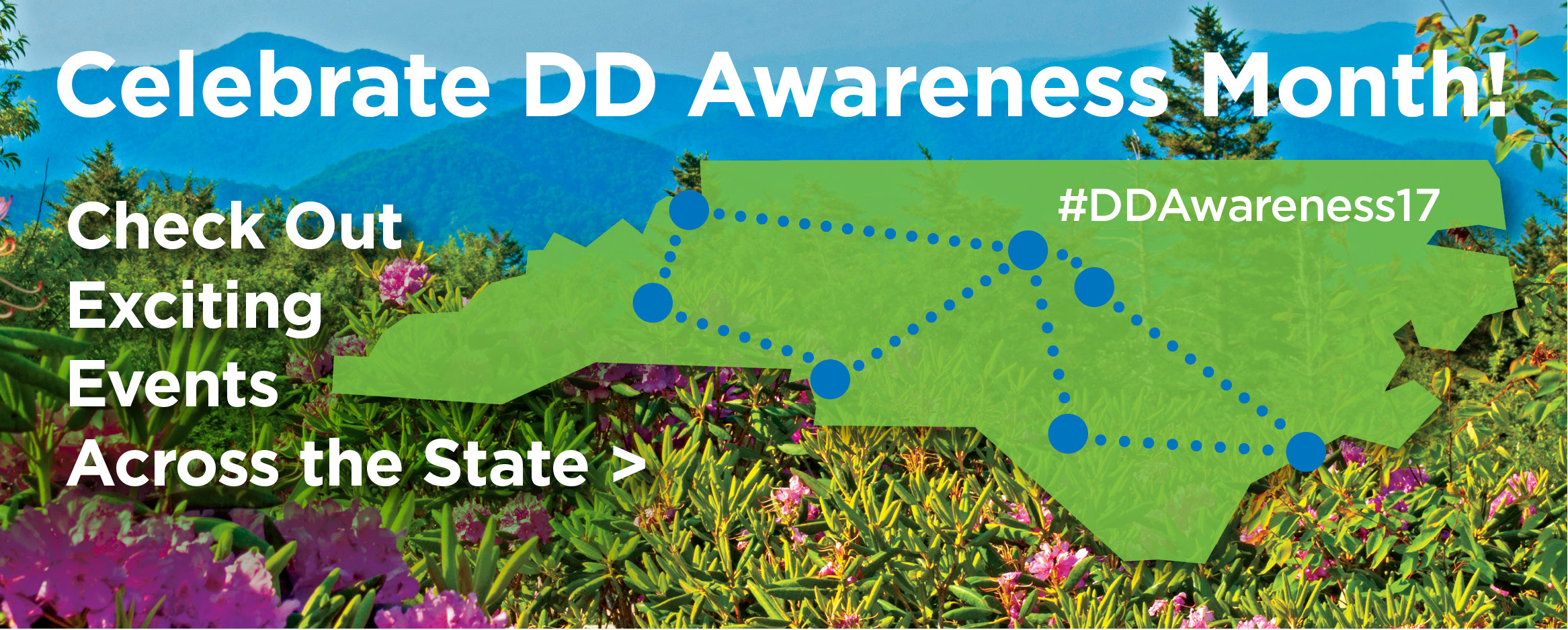 Celebrate DD Awareness Month! Check Out Exciting Events across the State > #DDAwareness17