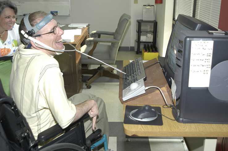 man using accessible computer2