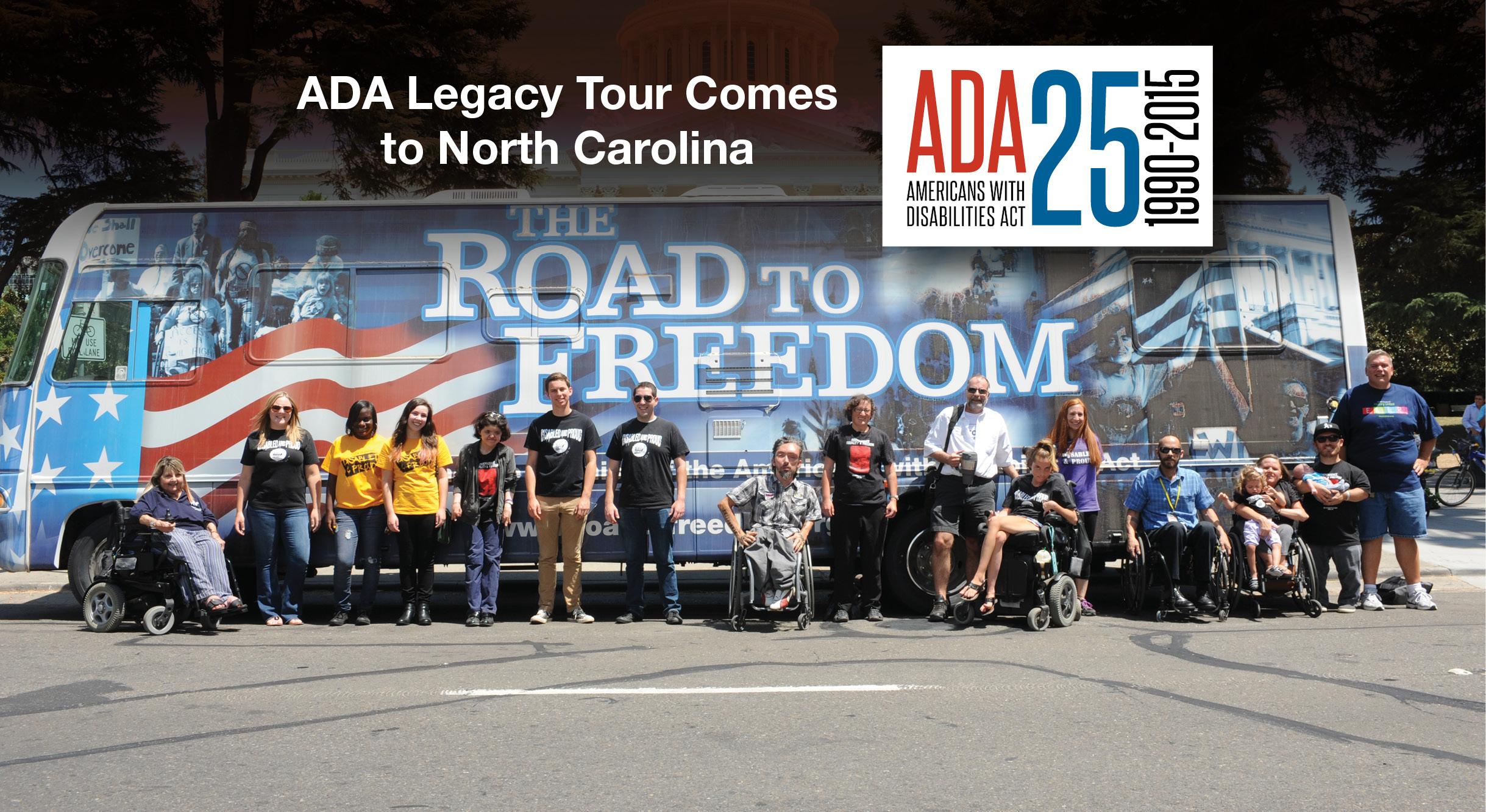 ADA Legacy Tour Comes to North Carolina