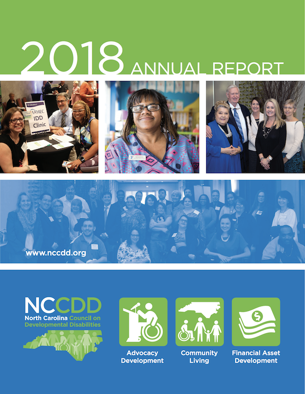 NCCDD AnnualReport Cover 2018