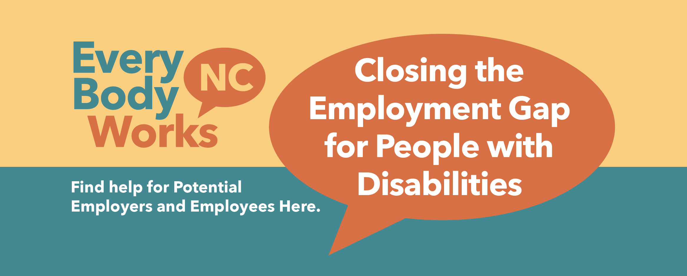 EveryBody Works NC - Closing the Employment Gap for People with Disabilities